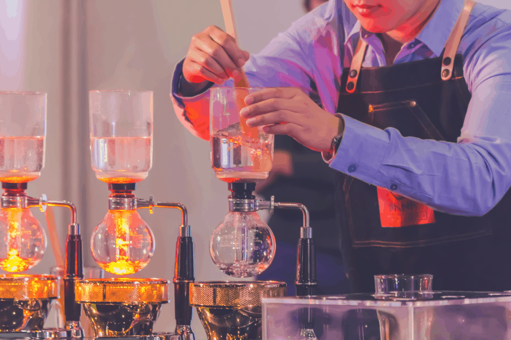 Showcase Syphon Coffee maker by syphonist