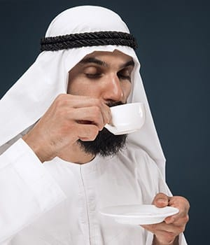 2 Spread To The Hills Of Arabia, history of coffee