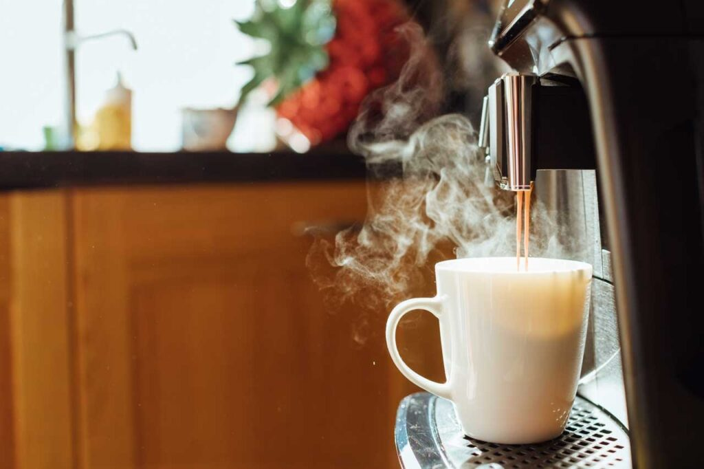can a coffee maker boil water