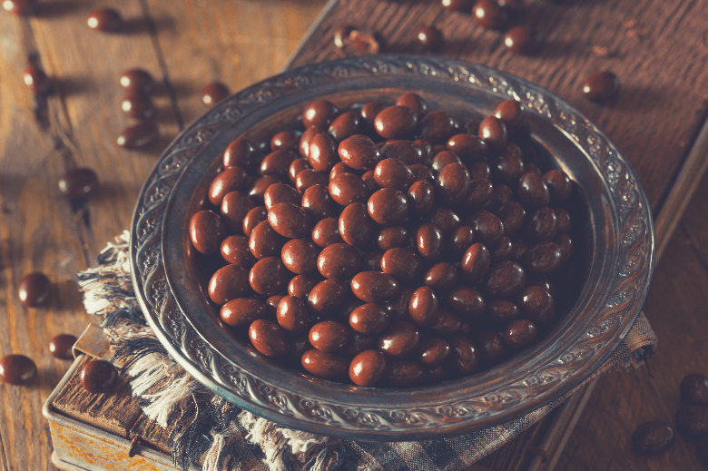 Chocolate Covered Espresso Coffee Beans, can you eat coffee beans